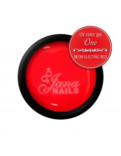 Color Gel One - Neon Electrical Red 5ML