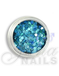 Sequins Light Blue