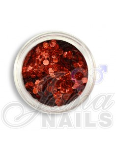 Sequins Red