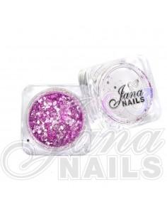 JN Confetti Mix Shine Light Violet 5 gr