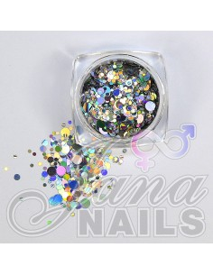 Aurora Mix Dots Silver