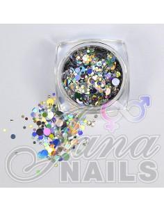 Aurora Mix Dots Silver