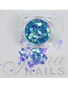 Aurora Mix Dots Blue