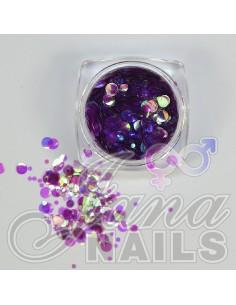 Aurora Mix Dots Purple