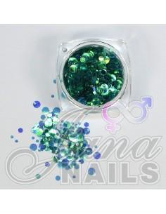 Aurora Mix Dots Turquoise