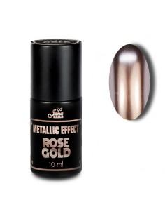 Metallic Effect Rose Gold 10ML