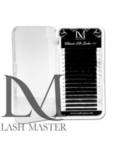 Mix C 0.07 LM Ultimate Silk Black Volume Mix Lashes