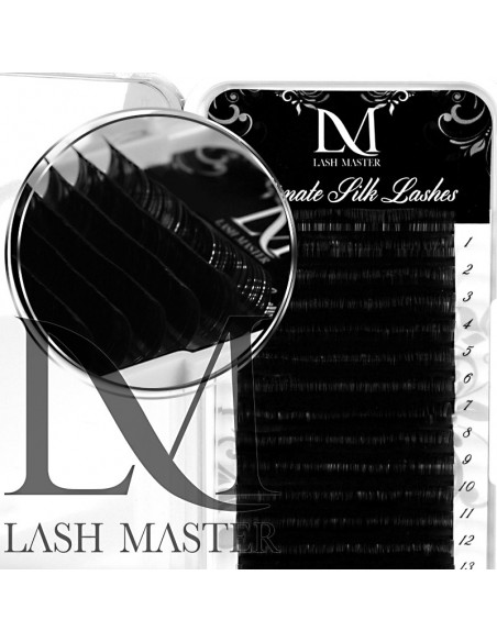 D 0.07-11MM LM Ultimate Black Silk Volume Lashes