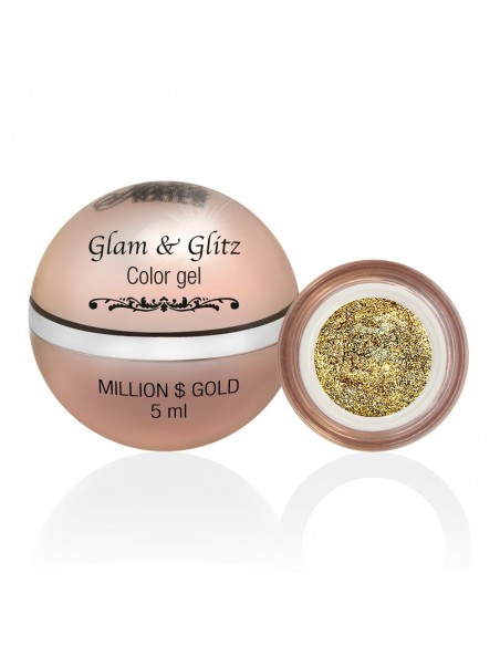 Glam & Glitz Color Gel - Million $ Gold 5ML