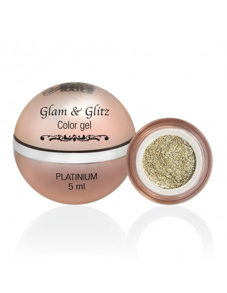 Glam & Glitz Color Gel - Platinium 5ML