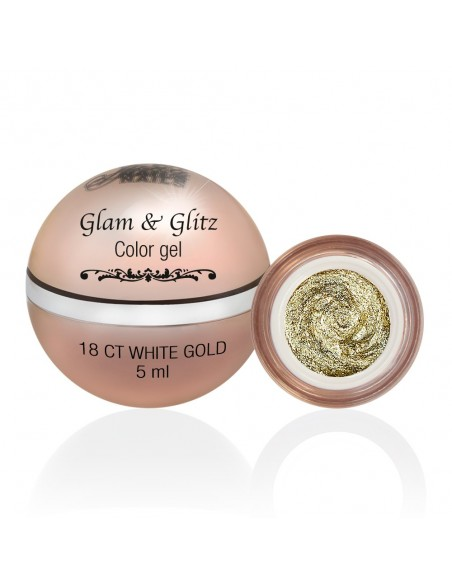 Glam & Glitz Color Gel - 18 Ct White Gold 5ML