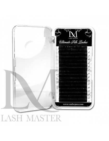 C 0.15-7MM LM Ultimate Black Silk Classic Lashes