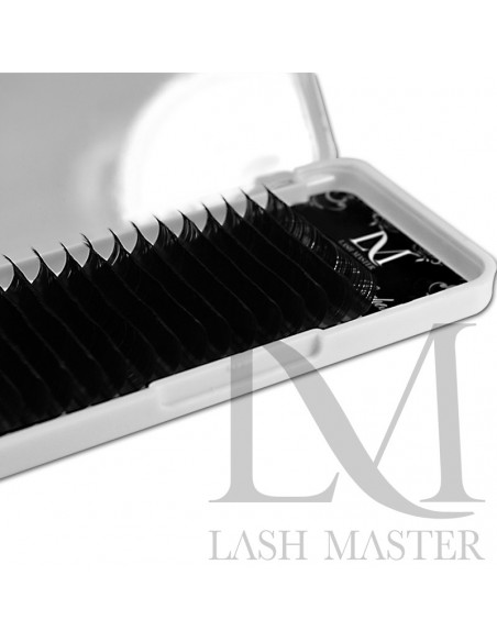 C 0.15-11MM LM Ultimate Black Silk Classic Lashes