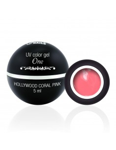 Color Gel One - Hollywood Coral Pink 5ML