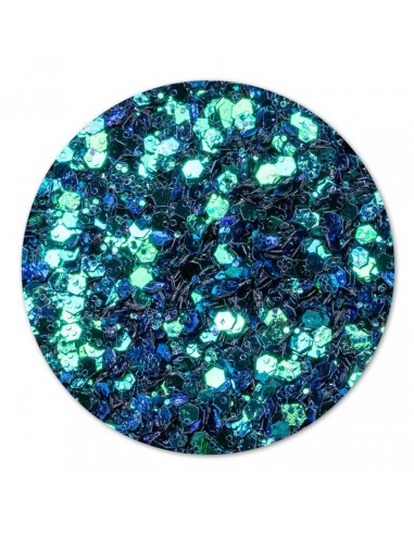 Chameleon Confetti Turquoise Green