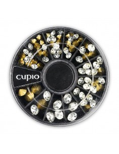Cupio Mini Crystal Sparkle Conic Wheel