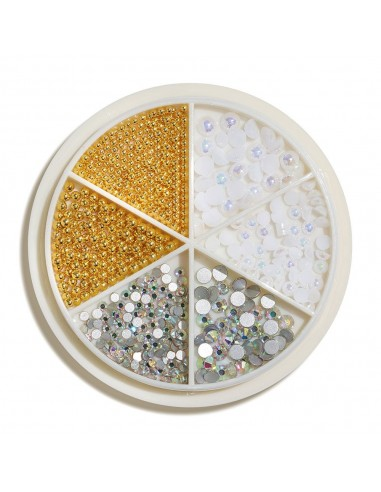 Cupio Mix Design Wheel White&Gold