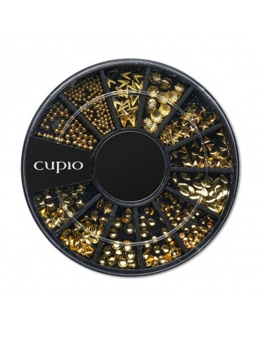 Cupio Metallic Ornaments Wheel - Go Gold