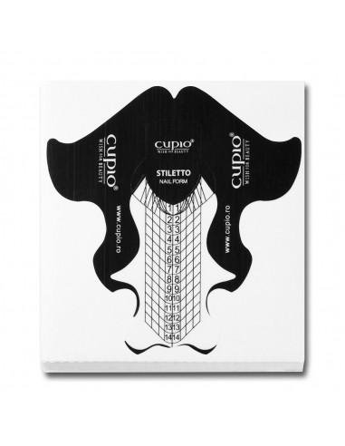 Cupio Plastic Stiletto Nail Forms 50 pcs