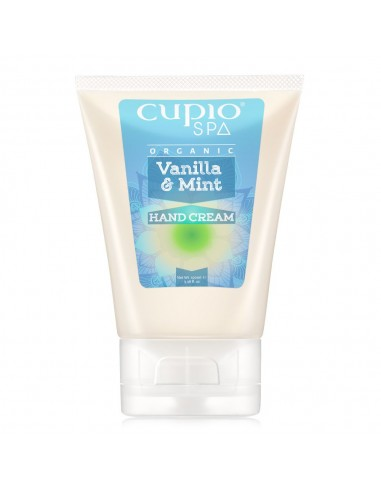 Cupio Organic Hand Cream Vanilla & Mint 100GR