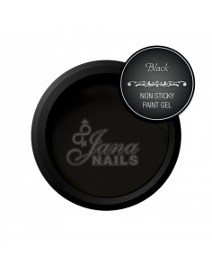Non Sticky Gel paint - Black 5 ML