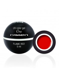 Color Gel One - Flame Red 5ML