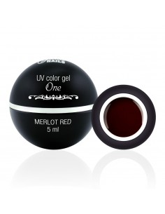 Color Gel One - Merlot Red 5ML