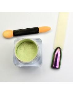 Chrome Mirror Powder Violet Green