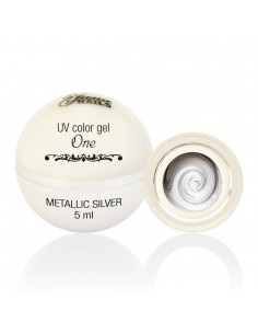 Color Gel One - Metallic Silver 5ML