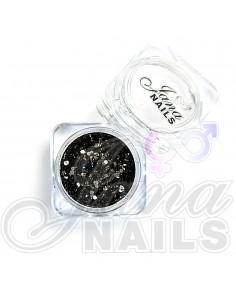 JN Confetti Mix Black Shine 5 gr