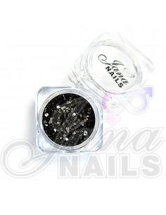 JN Confetti Mix Black Shine 5 gr