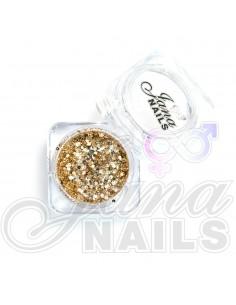 JN Confetti Mix Shine Champagne 5 gr