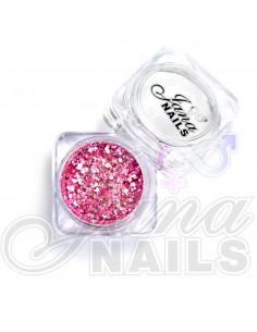 JN Confetti Mix Shine Light Pink 5 gr
