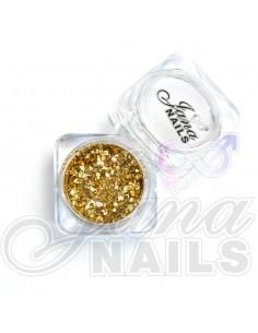 JN Confetti Mix Shine Pure Gold 5 gr