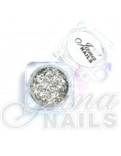 JN Confetti Mix Shine Silver N°1 5 gr