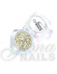 JN Confetti Mix Shine Silver N°3 5 gr