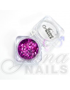 JN Confetti Mix Shine Violet 5 gr