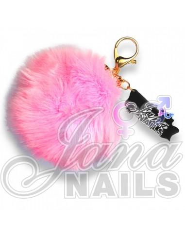 Furry Pink Ball