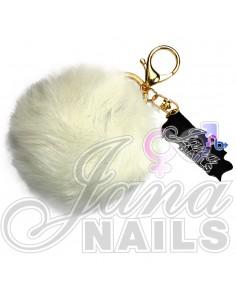 Furry White Ball