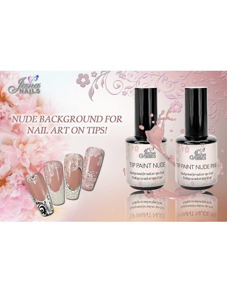 Tip Paint Nude Pink 15ML