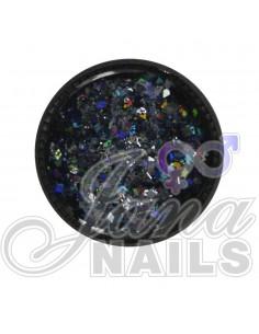 Multicolor Glitter Mix Black