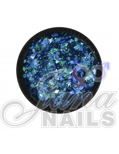 Multicolor Glitter Mix Blue