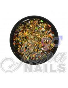 Multicolor Glitter Mix Gold