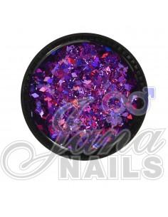 Multicolor Glitter Mix Violet