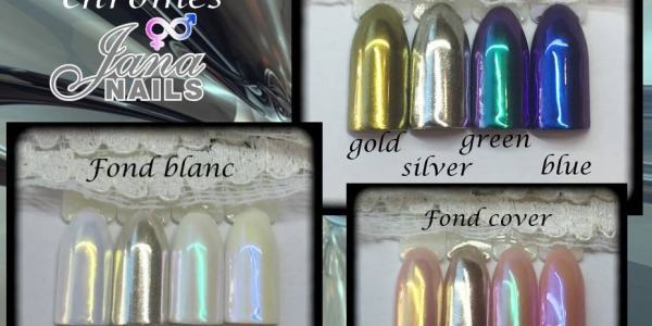 Les pigments chrome Jana Nails